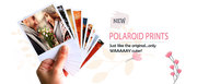Customize your pictures to pretty Polaroid prints at 599 only  at Reca