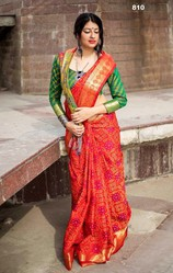 Shop Banarasi Patola Saree Online only at Kalavat.
