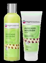 Avocado Shampoo & Hair Masks - The Vitamin for Hair Loss - Godrej Prof