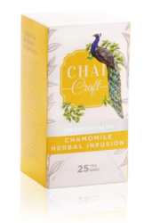 Buy Chamomile Herbal Infusion Tea Online | Chai Craft